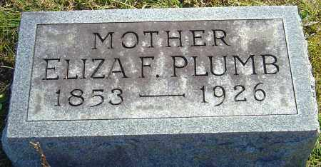 FINNEY PLUMB, ELIZA - Franklin County, Ohio | ELIZA FINNEY PLUMB - Ohio Gravestone Photos
