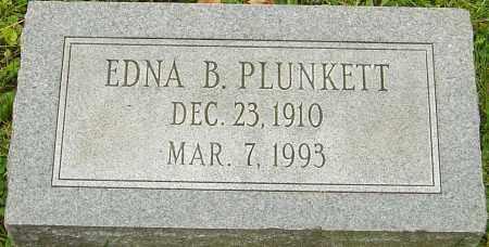 PLUNKETT, EDNA - Franklin County, Ohio   EDNA PLUNKETT - Ohio Gravestone Photos