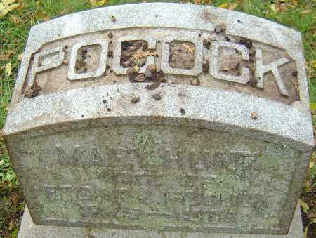 POCOCK, MARY - Franklin County, Ohio | MARY POCOCK - Ohio Gravestone Photos