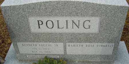 POLING, KENNETH EUGENE - Franklin County, Ohio   KENNETH EUGENE POLING - Ohio Gravestone Photos