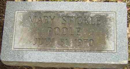 STICKLE POOLE, MARY - Franklin County, Ohio | MARY STICKLE POOLE - Ohio Gravestone Photos