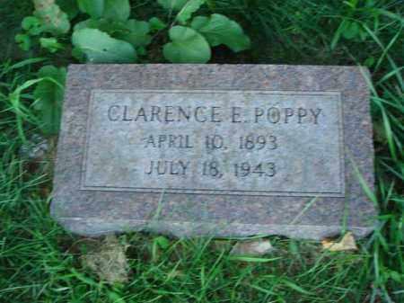 POPPY, CLARENCE E. - Franklin County, Ohio | CLARENCE E. POPPY - Ohio Gravestone Photos