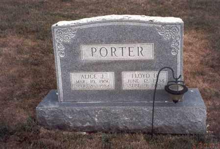 VANCE PORTER, ALICE J. - Franklin County, Ohio | ALICE J. VANCE PORTER - Ohio Gravestone Photos