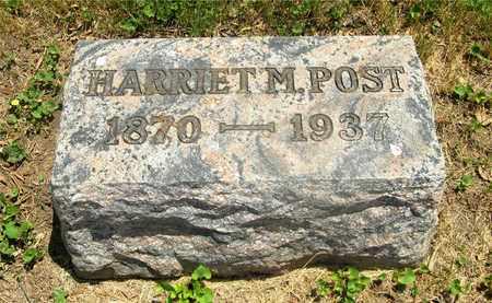 PECKERALL POST, HARRIET M. - Franklin County, Ohio | HARRIET M. PECKERALL POST - Ohio Gravestone Photos