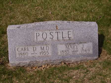POSTLE, MARY J. - Franklin County, Ohio | MARY J. POSTLE - Ohio Gravestone Photos