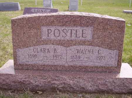 POSTLE, CLARA B. - Franklin County, Ohio   CLARA B. POSTLE - Ohio Gravestone Photos