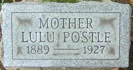 POSTLE, LULU - Franklin County, Ohio | LULU POSTLE - Ohio Gravestone Photos