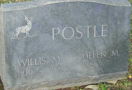 POSTLE, WILLIS - Franklin County, Ohio   WILLIS POSTLE - Ohio Gravestone Photos
