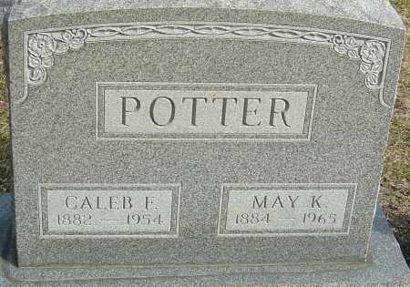 ROGERS POTTER, MAY KATHERINE - Franklin County, Ohio | MAY KATHERINE ROGERS POTTER - Ohio Gravestone Photos
