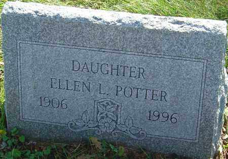 POTTER, ELLEN L - Franklin County, Ohio | ELLEN L POTTER - Ohio Gravestone Photos