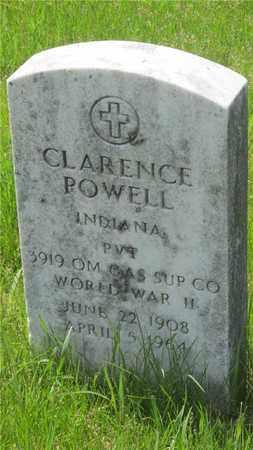 POWELL, CLARENCE - Franklin County, Ohio | CLARENCE POWELL - Ohio Gravestone Photos