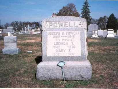 POWELL, MARY S. - Franklin County, Ohio | MARY S. POWELL - Ohio Gravestone Photos
