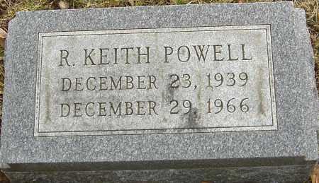 POWELL, R KEITH - Franklin County, Ohio | R KEITH POWELL - Ohio Gravestone Photos