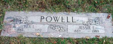 POWELL, REX L. - Franklin County, Ohio   REX L. POWELL - Ohio Gravestone Photos