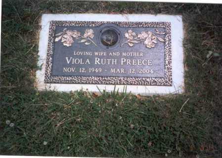 PREECE, VIOLA RUTH - Franklin County, Ohio | VIOLA RUTH PREECE - Ohio Gravestone Photos