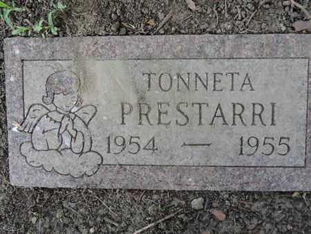 PRESTARRI, TONNETA - Franklin County, Ohio   TONNETA PRESTARRI - Ohio Gravestone Photos