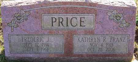 PRICE, FREDERIC J - Franklin County, Ohio | FREDERIC J PRICE - Ohio Gravestone Photos