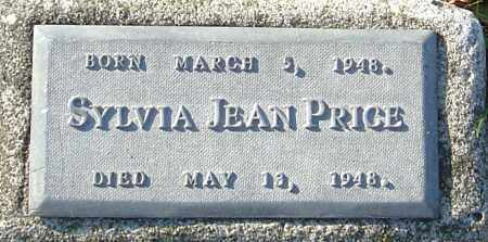 PRICE, SYLVIA JEAN - Franklin County, Ohio   SYLVIA JEAN PRICE - Ohio Gravestone Photos