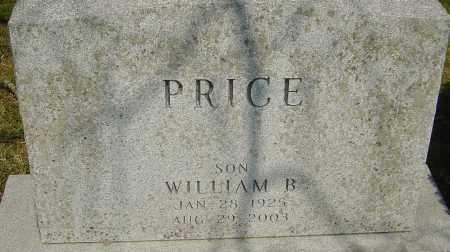 PRICE, WILLIAM B - Franklin County, Ohio | WILLIAM B PRICE - Ohio Gravestone Photos