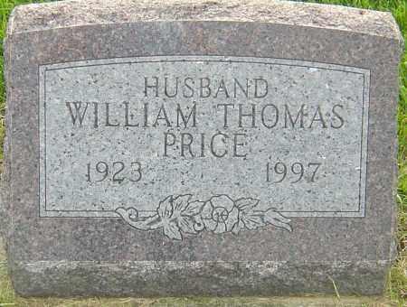 PRICE, WILLIAM THOMAS - Franklin County, Ohio | WILLIAM THOMAS PRICE - Ohio Gravestone Photos