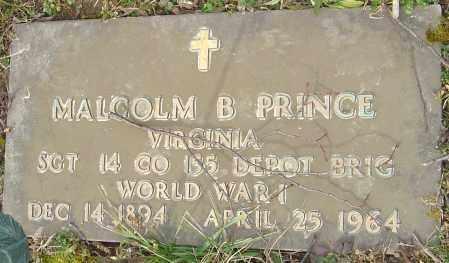 PRINCE, MALCOLM B - Franklin County, Ohio | MALCOLM B PRINCE - Ohio Gravestone Photos
