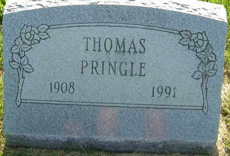 PRINGLE, THOMAS - Franklin County, Ohio | THOMAS PRINGLE - Ohio Gravestone Photos