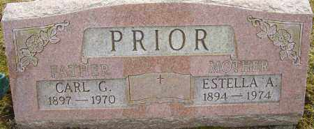 PRIOR, CARL G - Franklin County, Ohio | CARL G PRIOR - Ohio Gravestone Photos