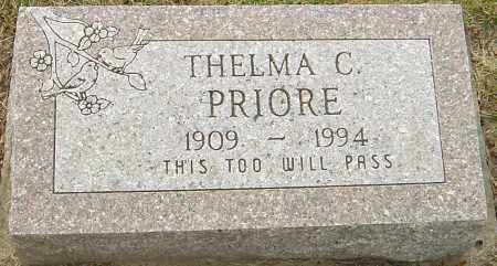 PRIORE, THELMA C - Franklin County, Ohio   THELMA C PRIORE - Ohio Gravestone Photos