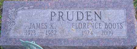 PRUDEN, FLORENCE - Franklin County, Ohio | FLORENCE PRUDEN - Ohio Gravestone Photos
