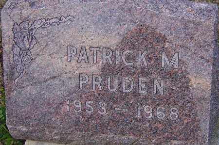 PRUDEN, PATRICK - Franklin County, Ohio   PATRICK PRUDEN - Ohio Gravestone Photos