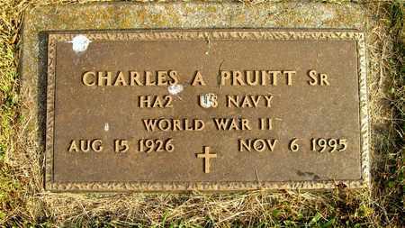 PRUITT, CHARLES A. - Franklin County, Ohio | CHARLES A. PRUITT - Ohio Gravestone Photos