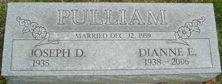 PULLIAM, DIANNE E - Franklin County, Ohio | DIANNE E PULLIAM - Ohio Gravestone Photos