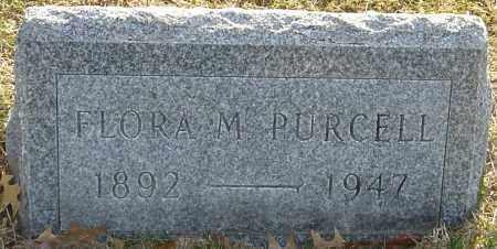 PURCELL, FLORA M - Franklin County, Ohio | FLORA M PURCELL - Ohio Gravestone Photos