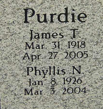 PURDIE, PHYLLIS N - Franklin County, Ohio | PHYLLIS N PURDIE - Ohio Gravestone Photos