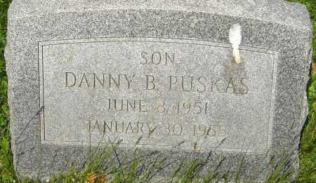 PUSKAS, DANNY B - Franklin County, Ohio | DANNY B PUSKAS - Ohio Gravestone Photos