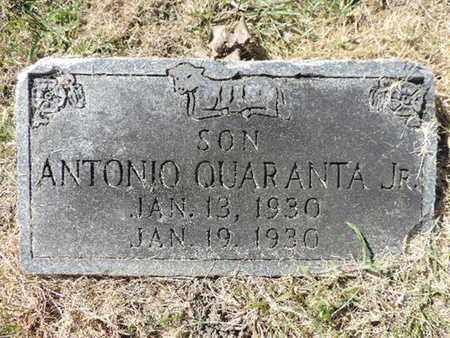 QUARANTA, ANTONIO - Franklin County, Ohio   ANTONIO QUARANTA - Ohio Gravestone Photos
