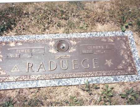 RADUEGE, GLADYS P. - Franklin County, Ohio | GLADYS P. RADUEGE - Ohio Gravestone Photos