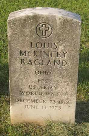 RAGLAND, LOUIS MCKINLEY - Franklin County, Ohio | LOUIS MCKINLEY RAGLAND - Ohio Gravestone Photos