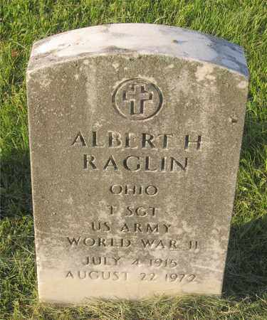 RAGLIN, ALBERT H. - Franklin County, Ohio | ALBERT H. RAGLIN - Ohio Gravestone Photos