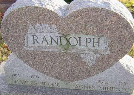 RANDOLPH, AGNES - Franklin County, Ohio | AGNES RANDOLPH - Ohio Gravestone Photos