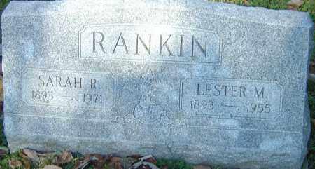RANKIN, LESTER MORSE - Franklin County, Ohio   LESTER MORSE RANKIN - Ohio Gravestone Photos