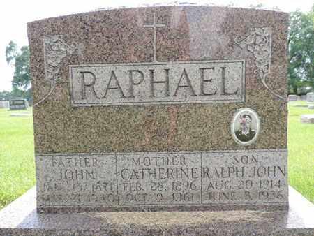 RAPHAEL, CATHERINE - Franklin County, Ohio | CATHERINE RAPHAEL - Ohio Gravestone Photos