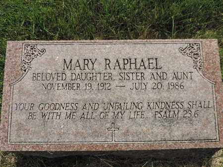 RAPHAEL, MARY - Franklin County, Ohio | MARY RAPHAEL - Ohio Gravestone Photos
