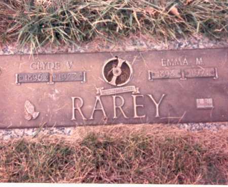 RAREY, EMMA M. - Franklin County, Ohio | EMMA M. RAREY - Ohio Gravestone Photos