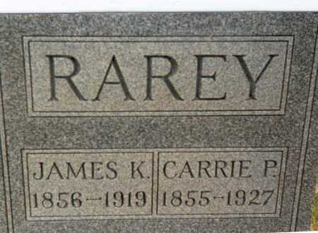 RAREY, CARRIE P. - Franklin County, Ohio | CARRIE P. RAREY - Ohio Gravestone Photos