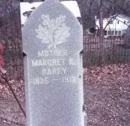RAREY, MARGRET  E. - Franklin County, Ohio | MARGRET  E. RAREY - Ohio Gravestone Photos