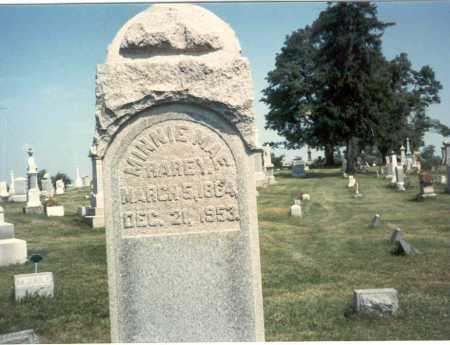 RAREY, MINNIE MAE - Franklin County, Ohio | MINNIE MAE RAREY - Ohio Gravestone Photos