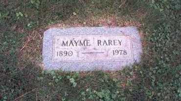 RAGER RAREY, MAYME - Franklin County, Ohio | MAYME RAGER RAREY - Ohio Gravestone Photos