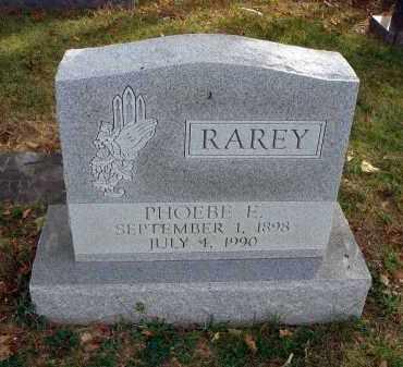 RAREY, PHOEBE E. - Franklin County, Ohio | PHOEBE E. RAREY - Ohio Gravestone Photos