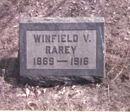 RAREY, WINFIELD V. - Franklin County, Ohio | WINFIELD V. RAREY - Ohio Gravestone Photos